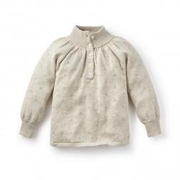Florecita Pointelle Sweater | Tea Collection