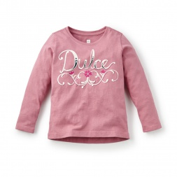 Dulce Graphic Tee | Tea Collection