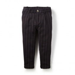 Picados Stripe French Terry Pants | Tea Collection