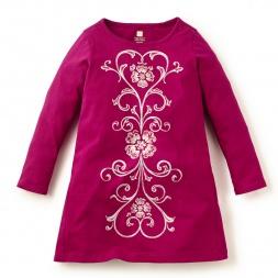 Fileteado Tshirt Dress | Tea Collection