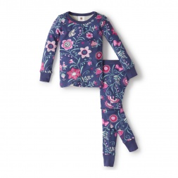 Floreado Lirico Pajamas | Tea Collection
