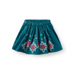Embroidered Kids Skirts | Tea Collection