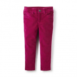 Girls Velvet Pants | Tea Collection