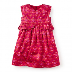 Girls Red Dress | Tea Collection