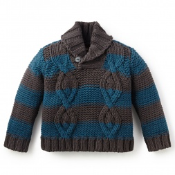 Marcos Cable Sweater | Tea Collection