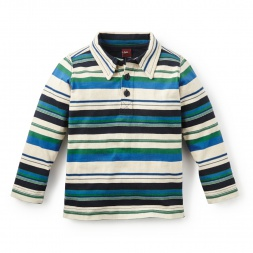 Boys Long Sleeve Polos | Tea Collection