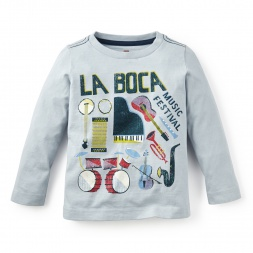 La Boca Graphic Tee | Tea Collection