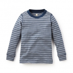 Maiten Striped Purity Tee | Tea Collection