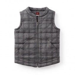El Compas Quilted Vest | Tea Collection