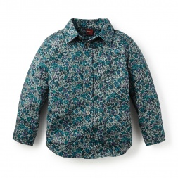 Flor Camo Shirt | Tea Collection