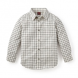 Plaid Shirt for Boys | Tea Collection