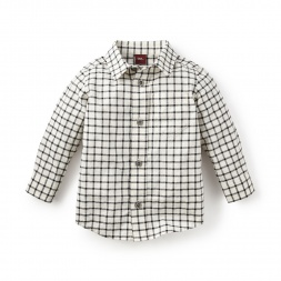 Rafael Plaid Baby Shirt