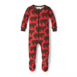 Oso Pardo Footed Pajamas