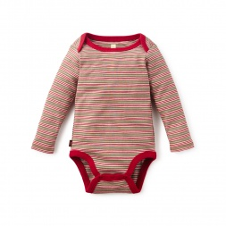 Maitén Striped Bodysuit