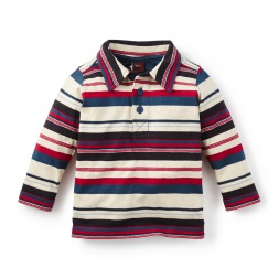 Emanuel Striped Baby Polo