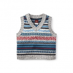 Anselmo Boys Vests | Tea Collection