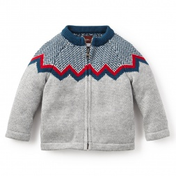 Boys Zip Cardigan | Tea Collection