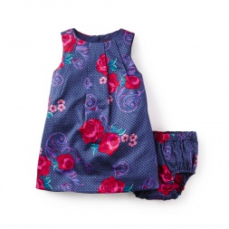 Fileteado Flor Baby Dress