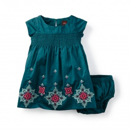 Melina Embroidered Baby Dress