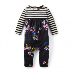 Baby Floral Romper | Tea Collection