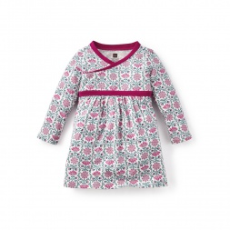 Marianela Wrap Neck Baby Dress