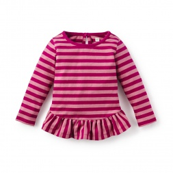 Parejas Ruffled Baby Top