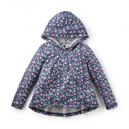 Lilen Hooded Hi-Lo Top
