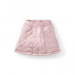 Triángulo Quilted Skirt