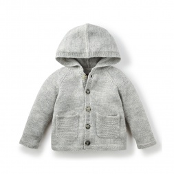 Emilio Hooded Cardigan