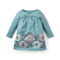 Mafalda Graphic Baby Dress