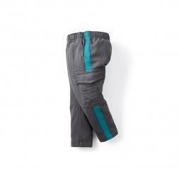 Side Stripe Baby Cargo Pants