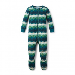 Hasta Manana Footed Pajamas