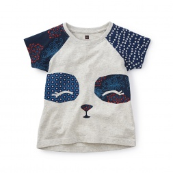 Girls Panda Shirt