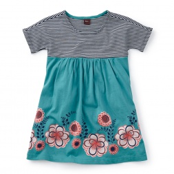 Girls Floral Empire Dress