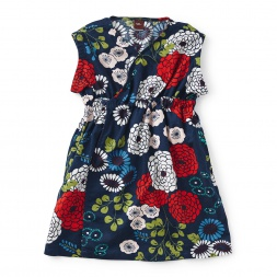 Girls Lily Wrap Dress