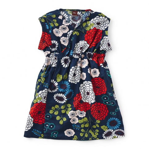 Girls Lily Wrap Dress