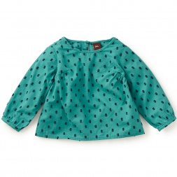 Seto Swiss Dot Baby Top