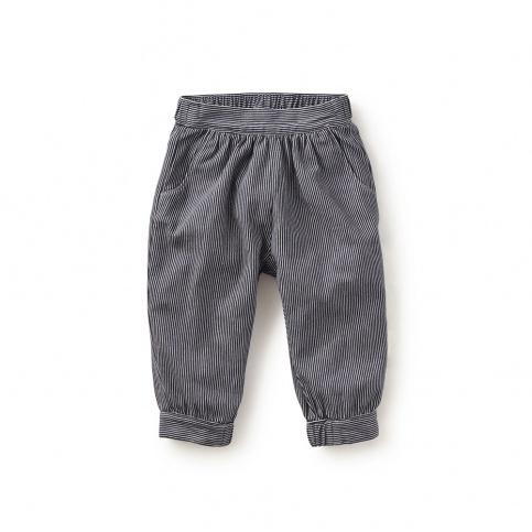 Tetsudo Striped Baby Pants