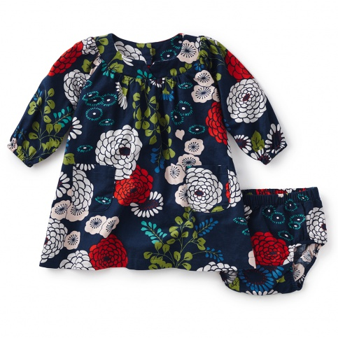 Lily Pond Baby Dress