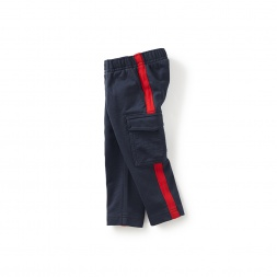 Side Stripe Baby Cargo Pants