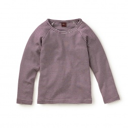 Striped Purity Tee | Tea Collection