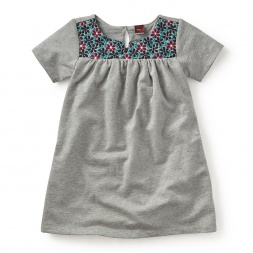 Milan Daisy Embroidered Dress