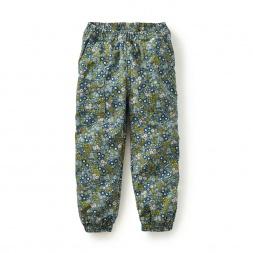 Jet-Set Floral Jogger Pants