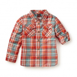 Michelangelo Plaid Shirt