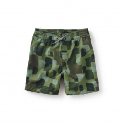 Splash Camo Swim Trunks
