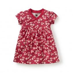 Giacomo's Garden Wrap Neck Baby Dres