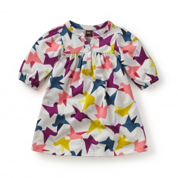 Ponti's Flight Henley Baby Dress