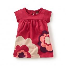 Futurist Flowers Baby Dress