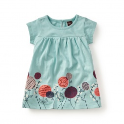 Lora Graphic Baby Dress