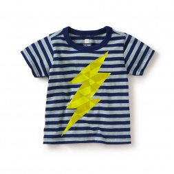 Fulmine Graphic Baby Tee
